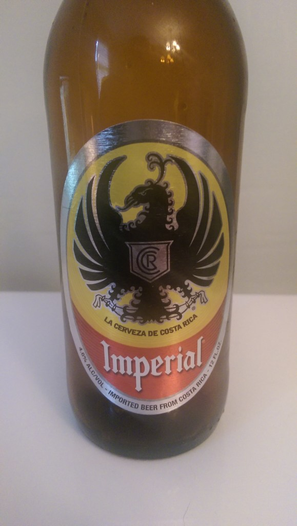 Made in Costa Rica, this beer just might not be meant for me.