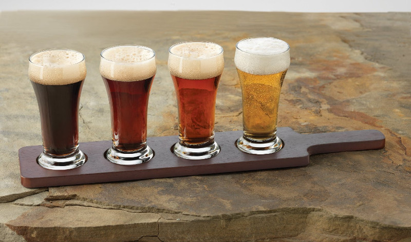 A great way to split 12oz crafts beers these four 6oz make it easy to sample out your home brews.