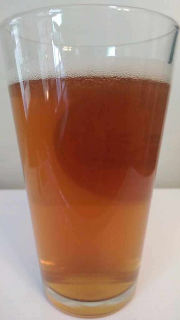 Fish Tale IPA pours an attractive amber with a low carbonation head.