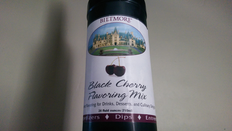 Black Cherry Syrup