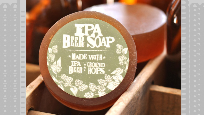 You actually smell like a brewery with this Beer Body Soap, just really good.