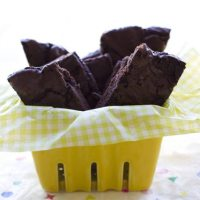 Brownie Brittle Recipe - from a box mix #FoodIsLove