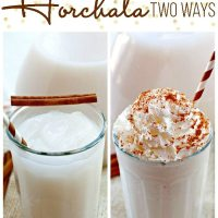 Horchata Recipe: Two Ways AND a Giveaway!