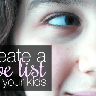 How to Create a Love List With Your Kids