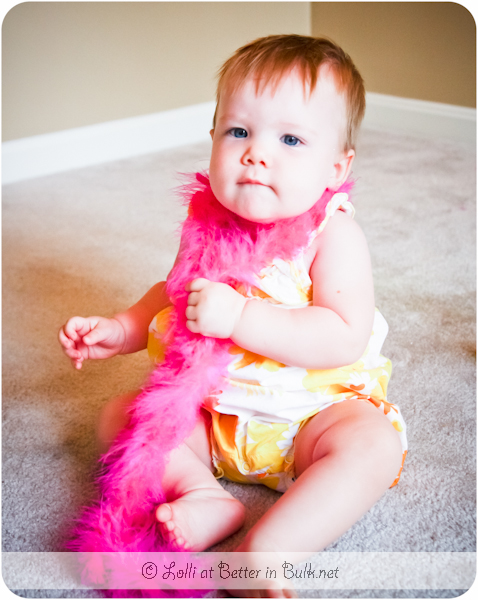 Baby With Boa – Photostory Friday
