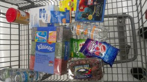 cold and flu season shopping cart