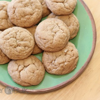 Chewy Ginger Cookies with I Can't Believe It's Not Butter #G2KHoliday