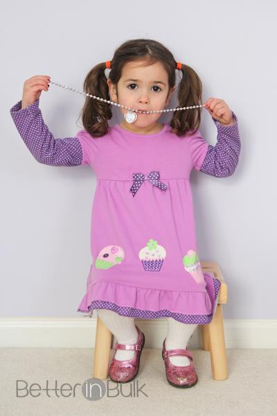 balance - little girl