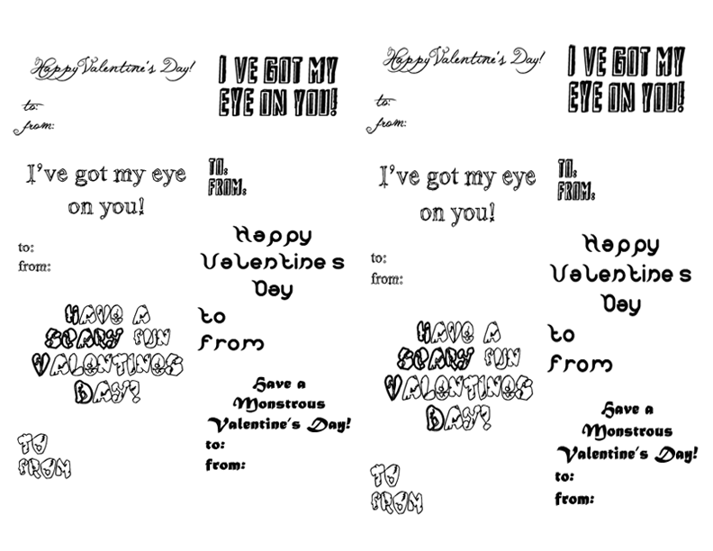Monster Valentineu0027s Day Sayings And Messages