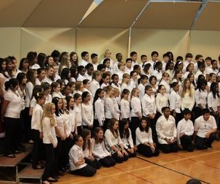 Ahhh….the middle school holiday concert