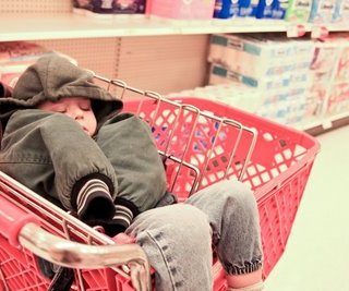 Sleepy shopper