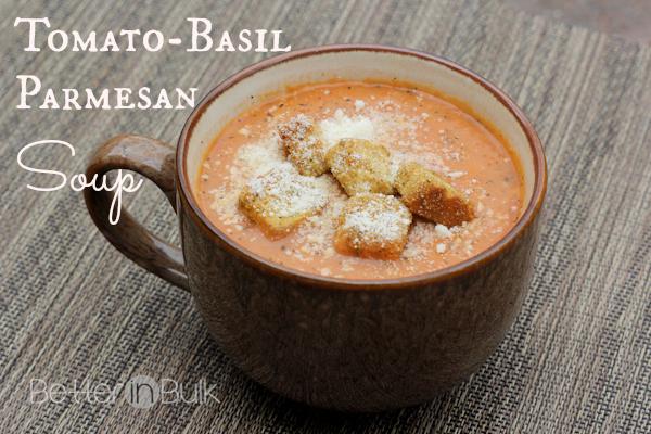 tomato basil parmesan soup recipe