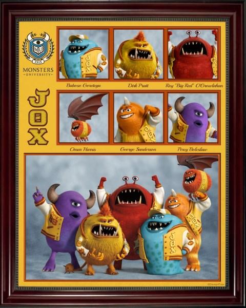 Monster's University JOX