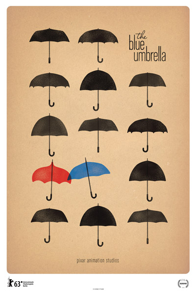 The Blue Umbrella pixar short film