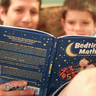 Bedtime Math by Laura Overdeck Book Review and Giveaway