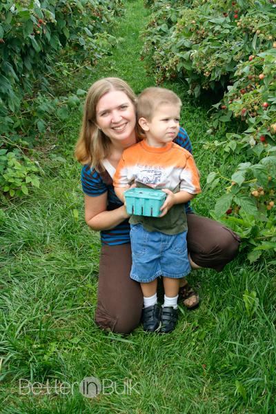 berry picking September 2008