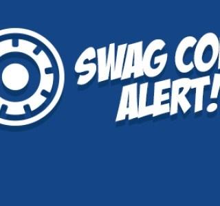 Swag Code Alert for 9/17!