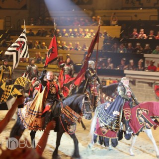 Be an Honorary Knight this New Year's Eve at Medieval Times