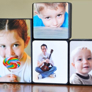 DIY Photo Blocks {Easy Craft Tutorial}