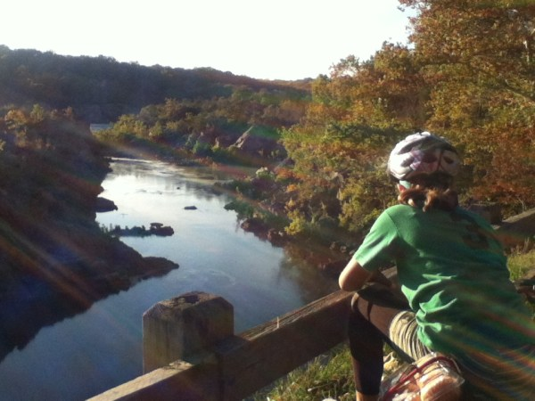 Biking on the C&O Canal in October