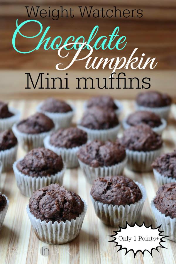 Weight Watchers Chocolate Pumpkin Muffins