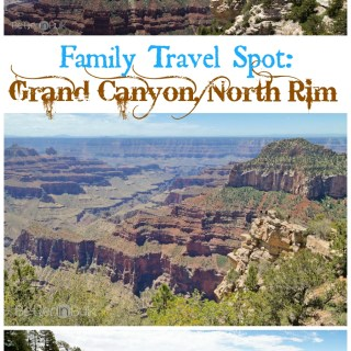 Grand Canyon, North Rim: Family Travel Spot #PSF