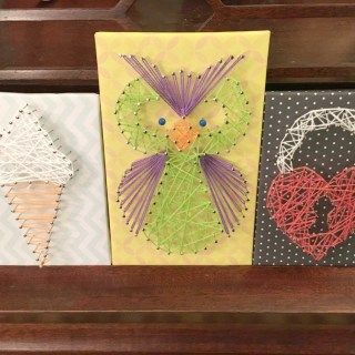 String Art and More {Handmade for the Holidays} #KLUTZhandmade