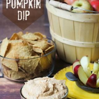 Sweet and Creamy Pumpkin Dip