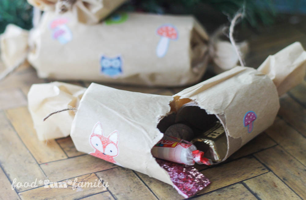 Woodland Christmas Crackers- An Easy Craft from Food Fun Family-7