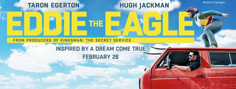 Eddie The Eagle movie Banner