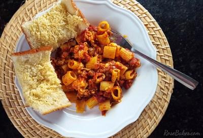 Spicy-Sausage-Cheese-Rigatoni-Recipe