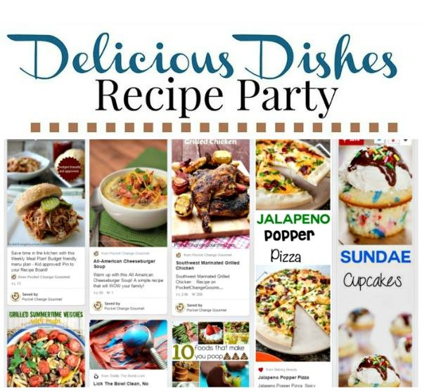 Delicious Dishes Pinterest board