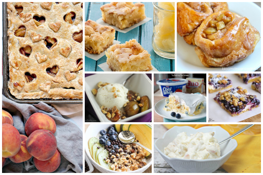 Delicious Dishes Recipe Party #34 - Recipes with Fruit