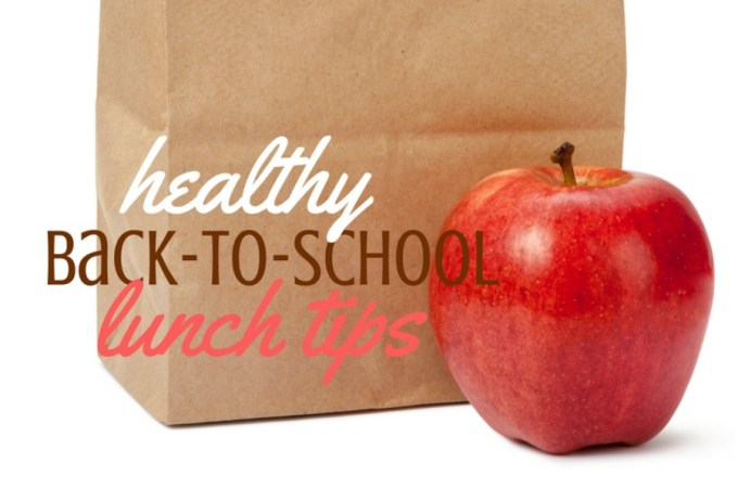Healthy back to school lunch tips feature