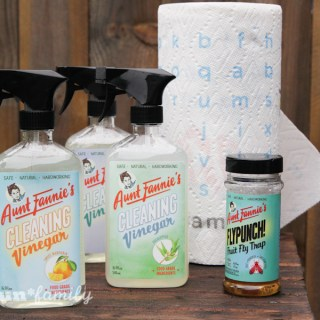 Aunt Fannie's Food-Based Cleaners #HealthierHousekeeping