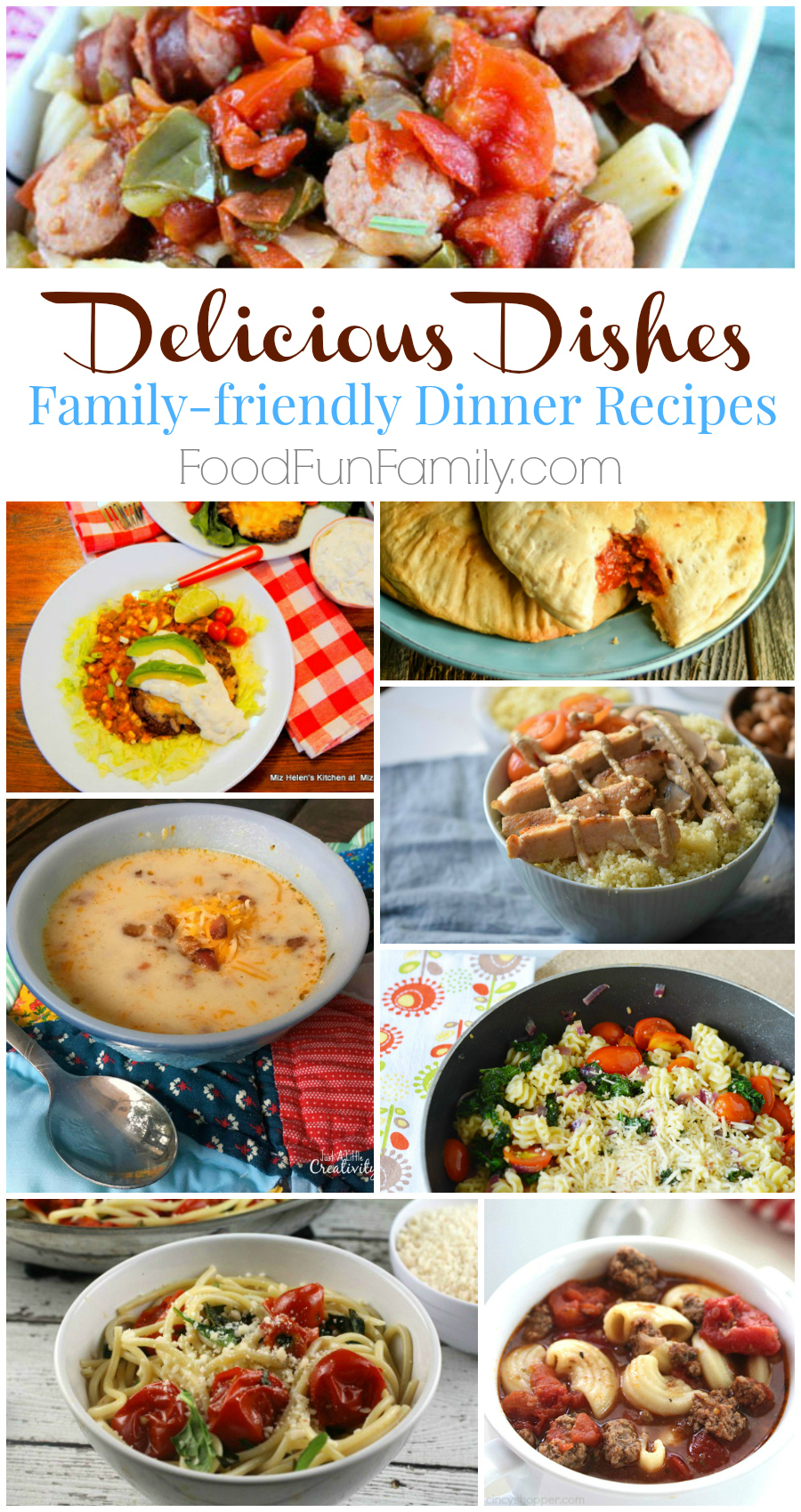 Delicious Dishes #35 - Family-friendly Dinner Recipes and more