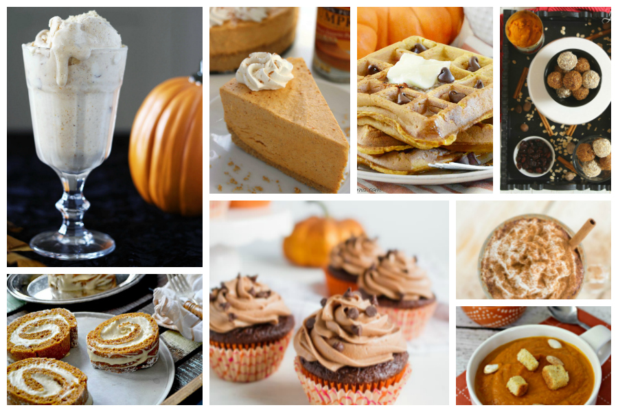 Delicious Dishes Recipe Party #37 - Tasty Pumpkin Recipes