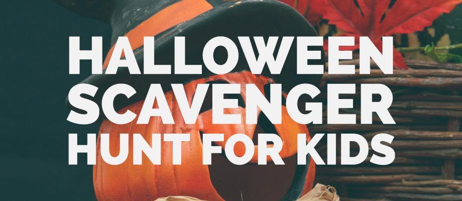 Halloween Scavenger Hunt for Kids