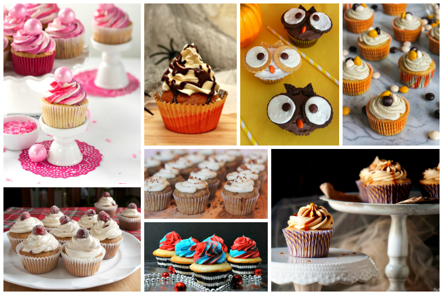 Delicious Dishes Recipe Party #41 - Cupcake Recipes
