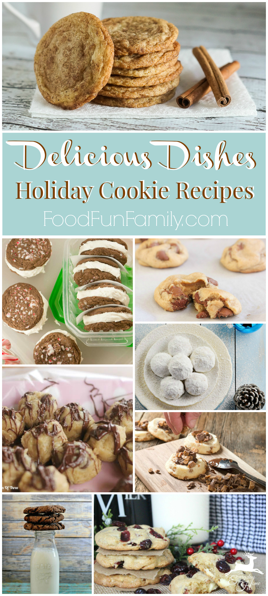 Delicious Dishes Recipe Party - Host favorites to make the most delicious Christmas cookie exchange! These are some of the most delicious cookie recipes ever, regardless of time of year!