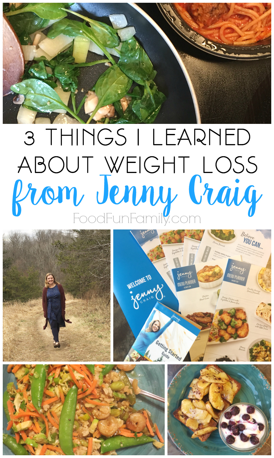 3 things I learned about weight loss from Jenny Craig