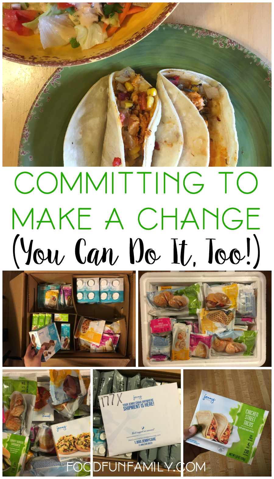 Committing to Make a Change (You Can Do It, Too!) - Beginning my weight loss journey with Jenny Craig