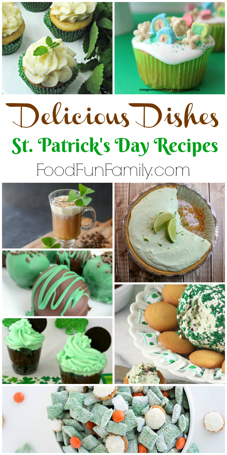 St. Patrick's Day Recipes - a Delicious Dishes Recipe Party collection from Food Fun Family
