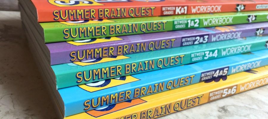 Fight the Summer Slide with Summer Brain Quest Workbooks