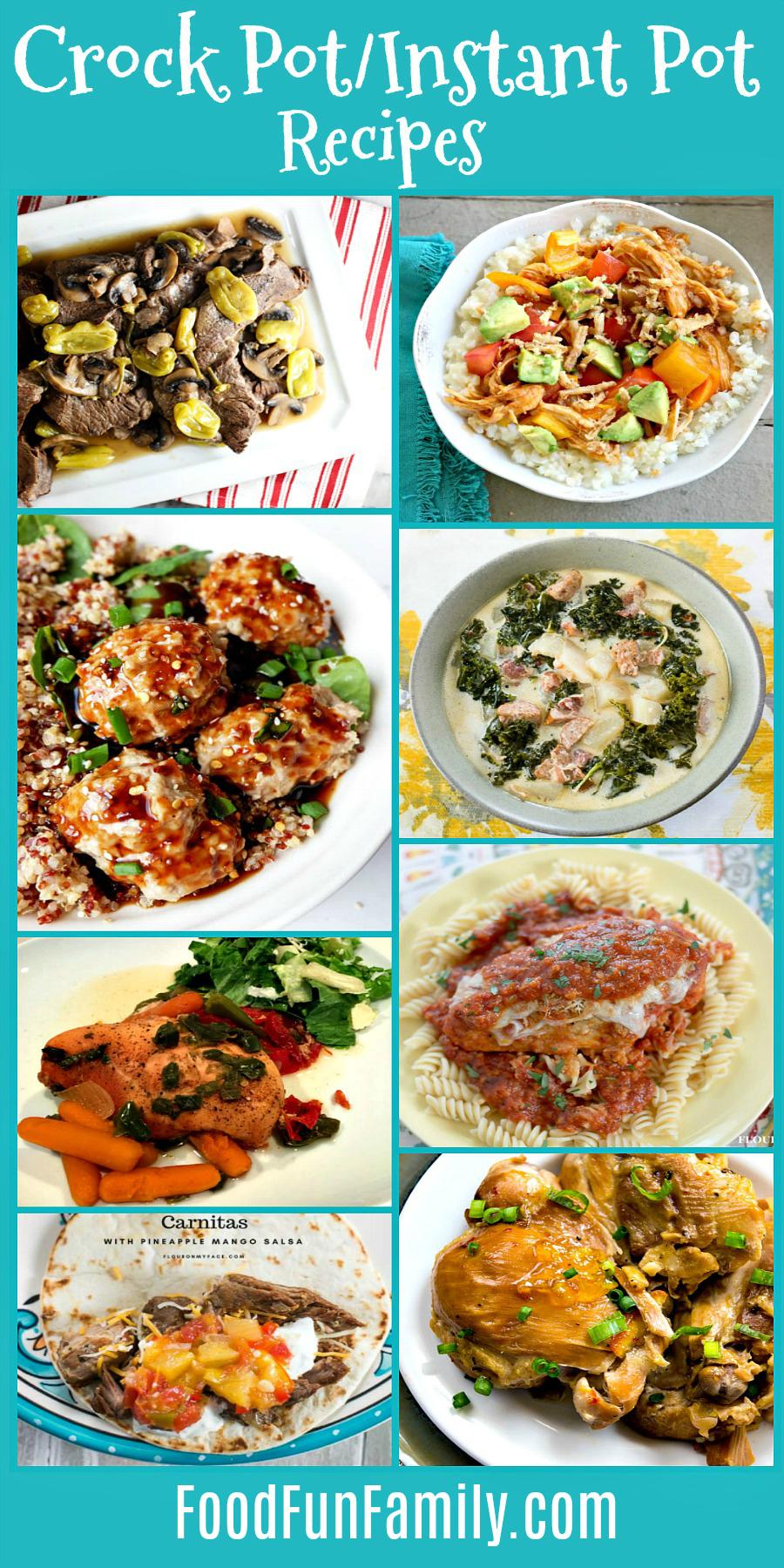Crock Pot and Instant Pot Recipes Delicious Dishes Recipe Party