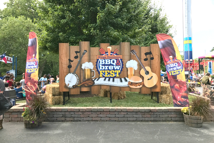 Kings Dominion BBQ and Brew Fest 2017
