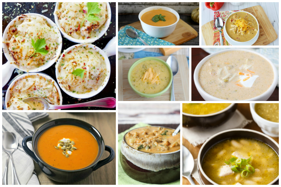 Comforting Soup Recipes - Delicious Dishes Recipe Party #88