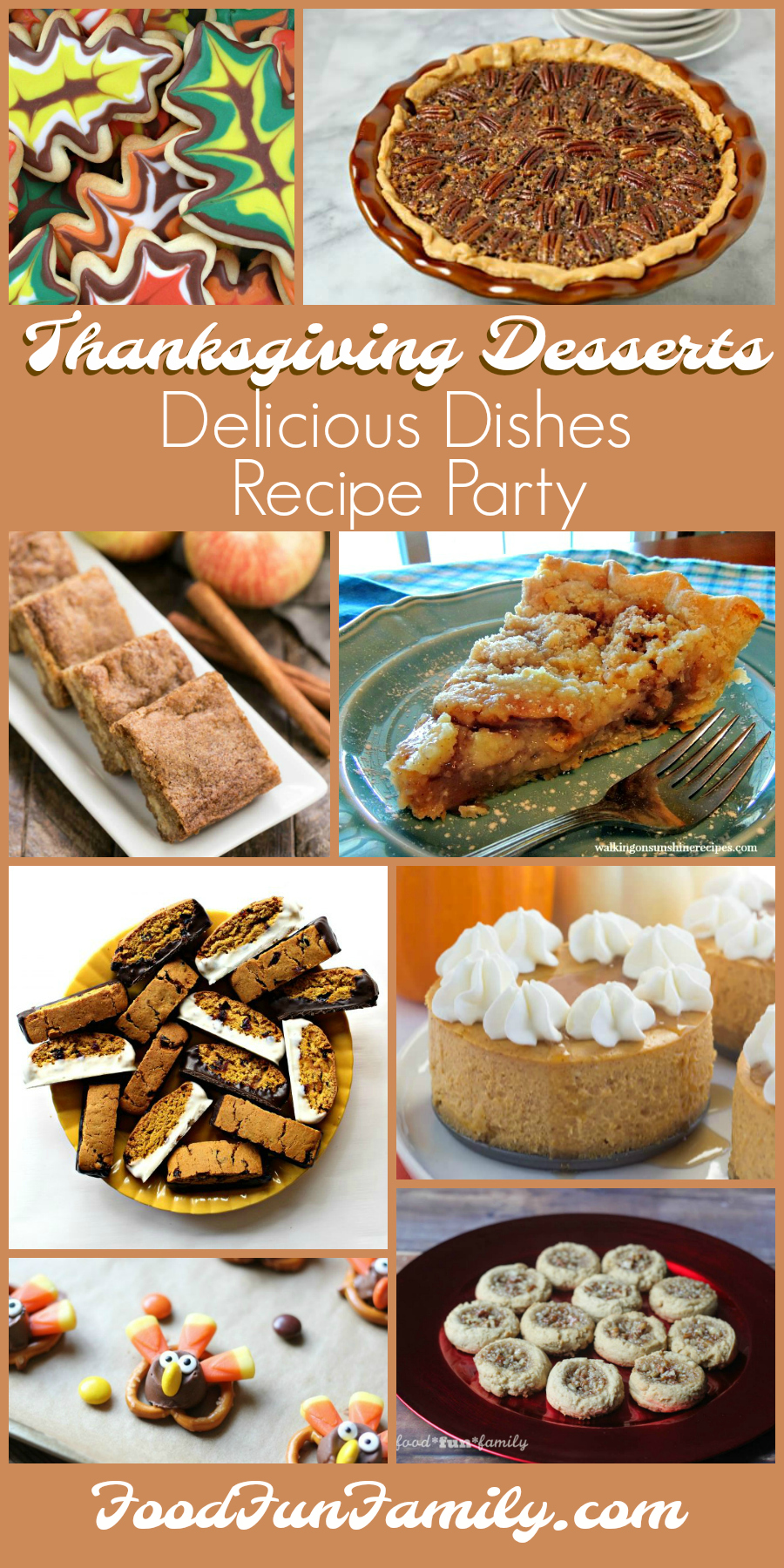 Thanksgiving desserts - Delicious Dishes Recipe Party