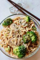 Spicy Garlic Asian Noodles (Vegan)