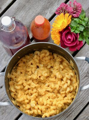 Vegan Pumpkin Mac n' Cheese